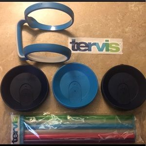 TERVIS ACCESSORIES LOT (24 oz)